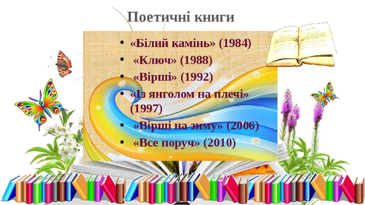 Поетичні книги