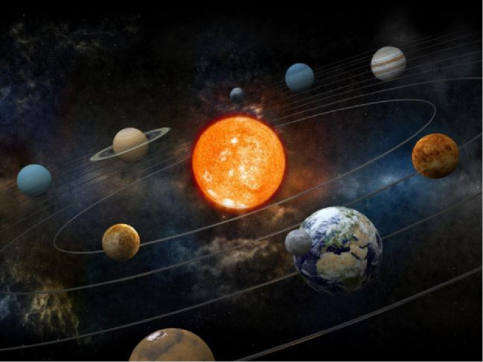 planets orbiting video - 800×600