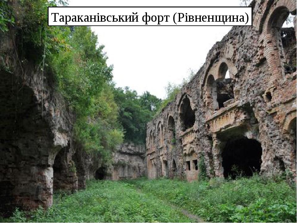 Тараканівський форт (Рівненщина)