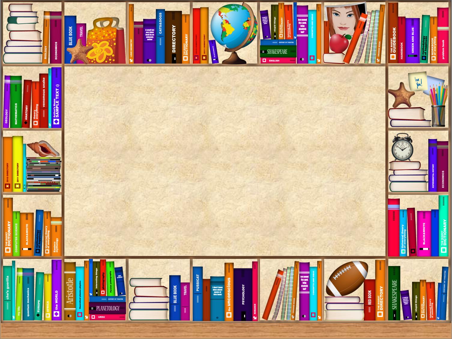Фон для режима работы библиотеки