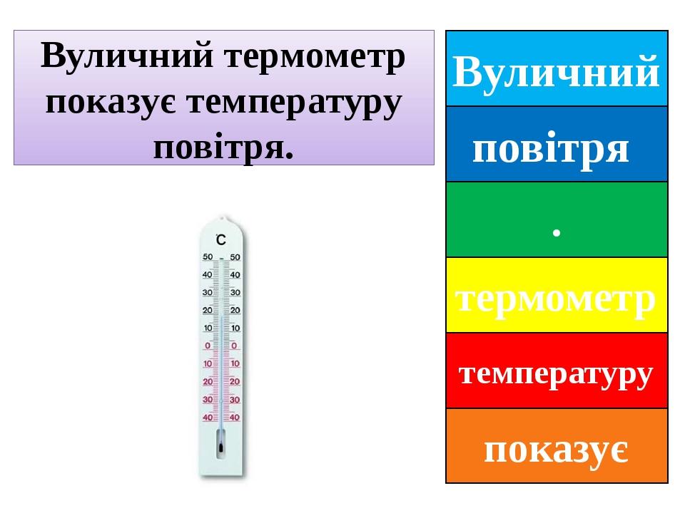 Вуличний повітря . термометр температуру показує Вуличний термометр показує температуру повітря.