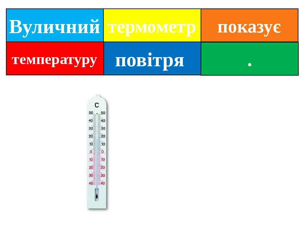 Вуличний повітря . термометр температуру показує