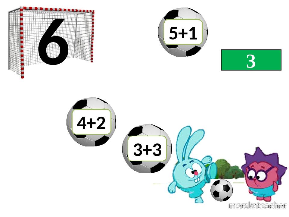 3 6 4+2 3+3 5+1