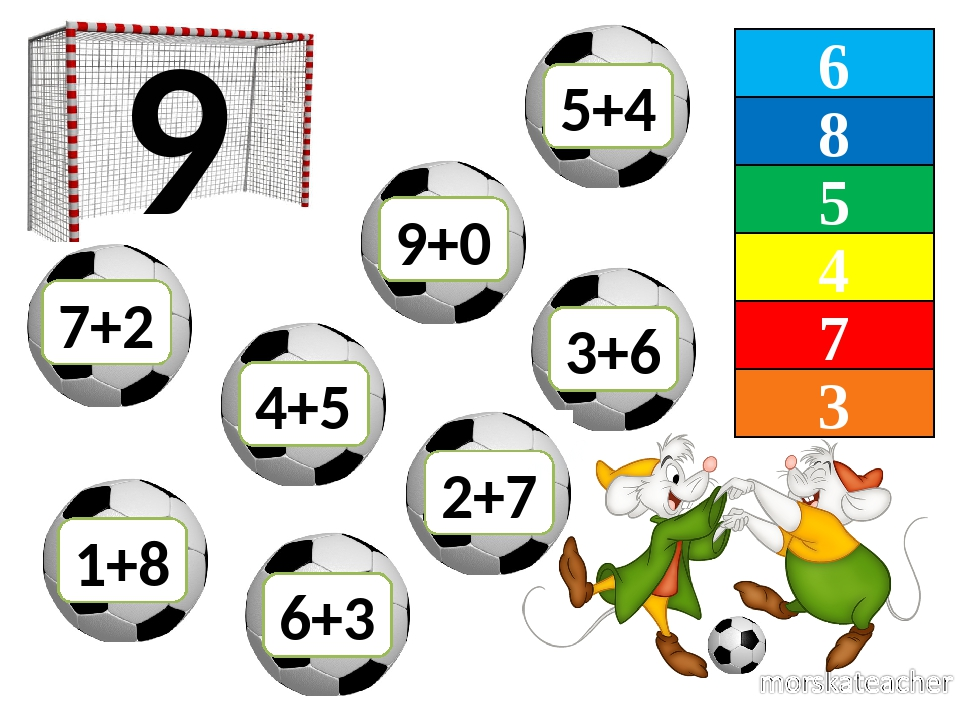 6 8 5 4 7 3 9 7+2 6+3 3+6 4+5 9+0 1+8 2+7 5+4