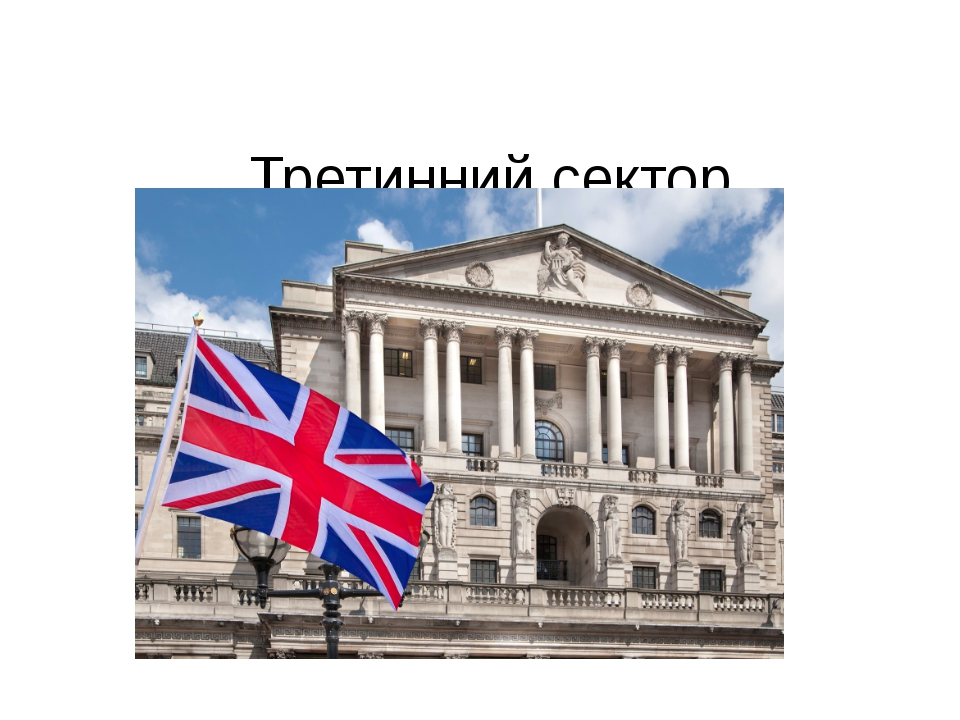Третинний сектор Банківські послуги