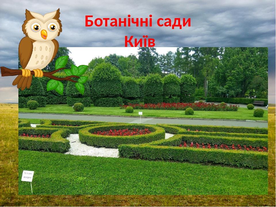 Ботанічні сади Київ