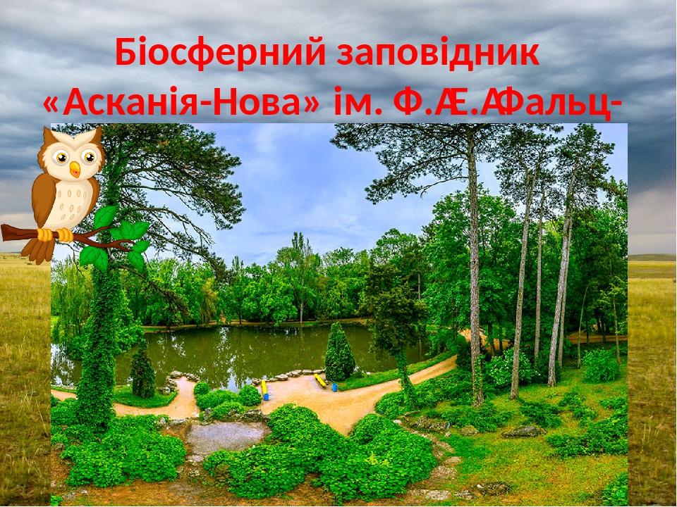 Біосферний заповідник «Асканія-Нова» ім. Ф.Е.Фальц-Фейна