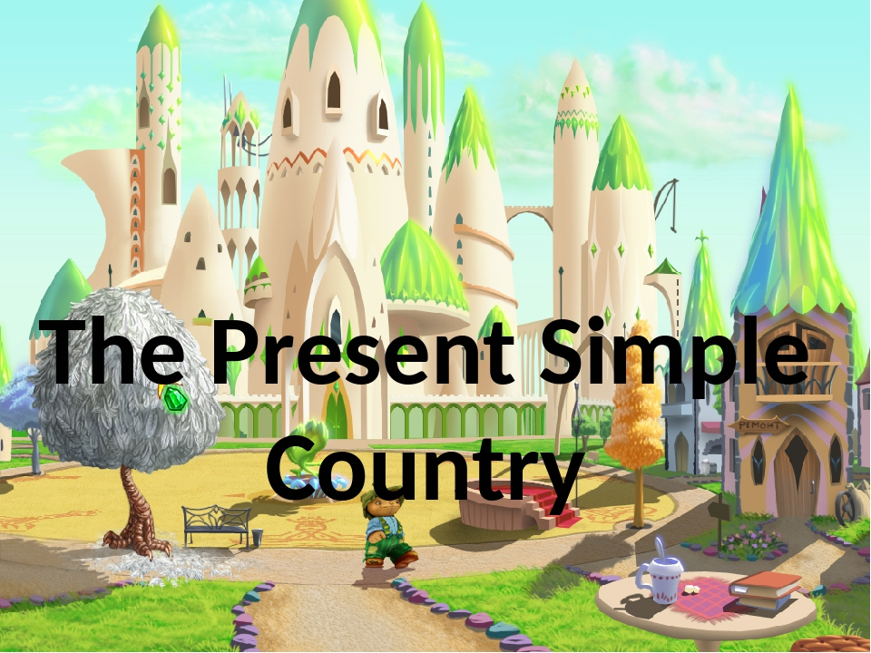 The Present Simple Country