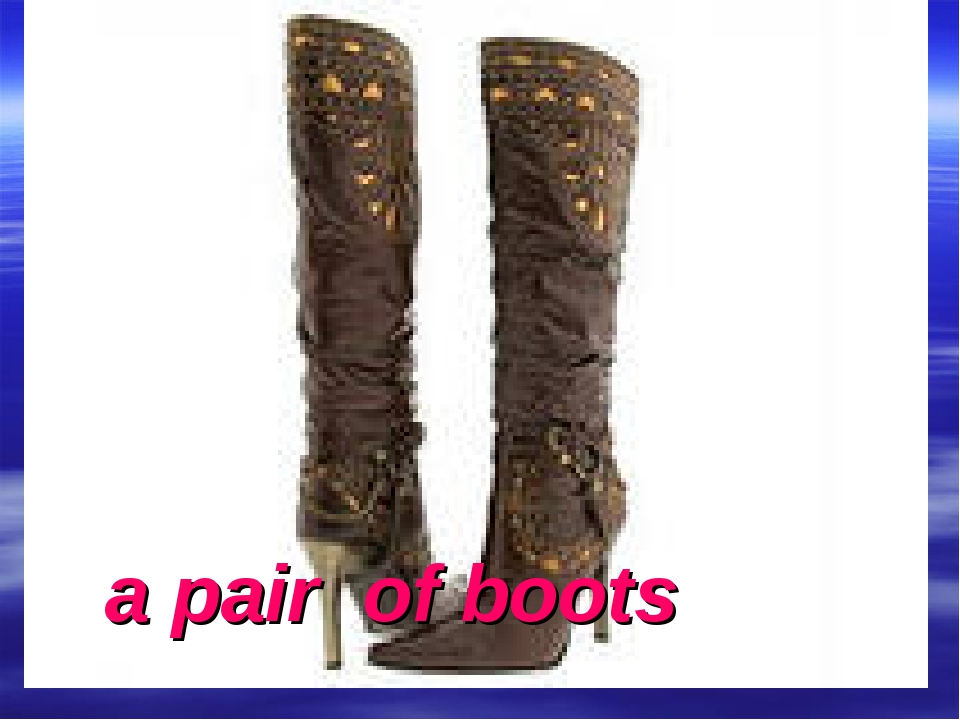 a pair of boots