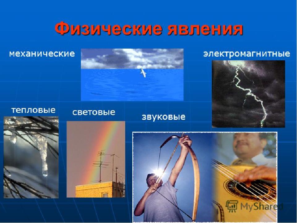 примеры физических явлений картинки преобразуют