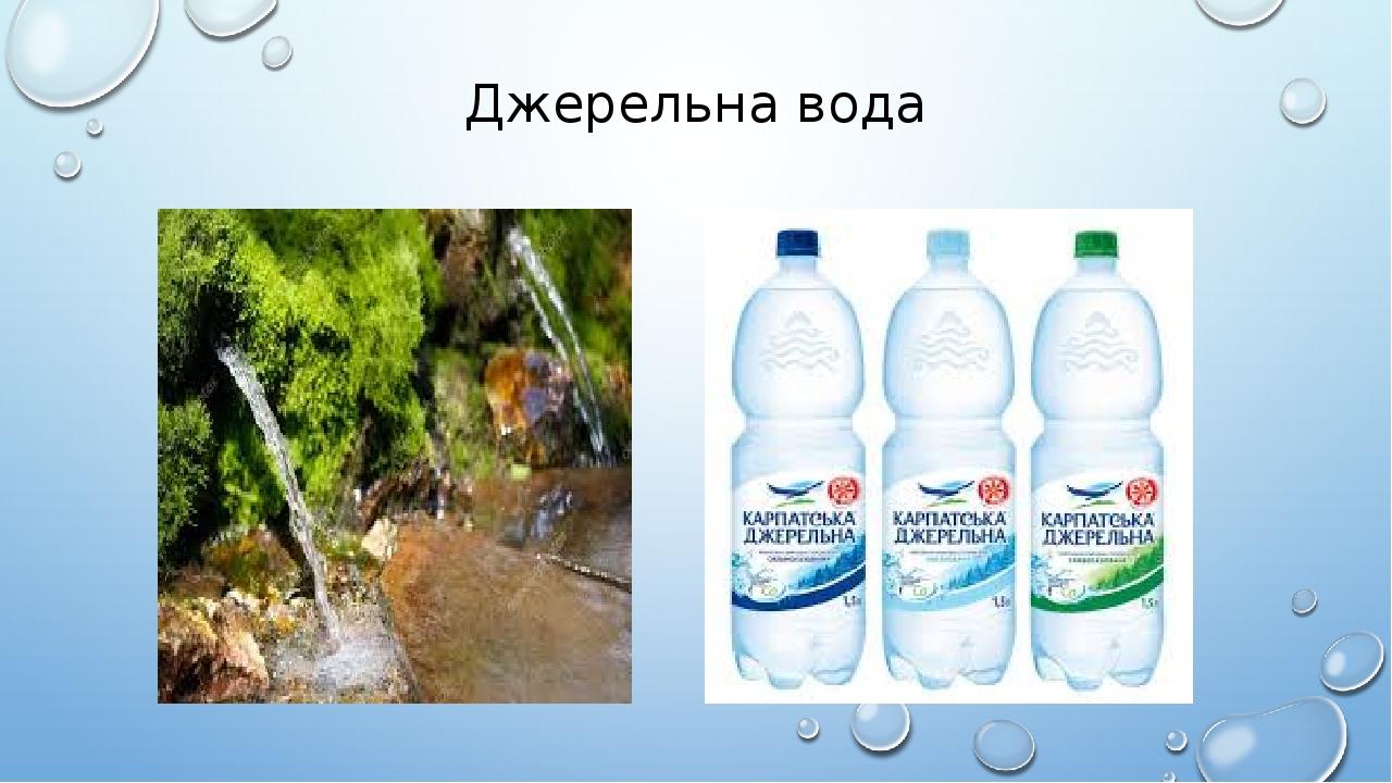 Джерельна вода