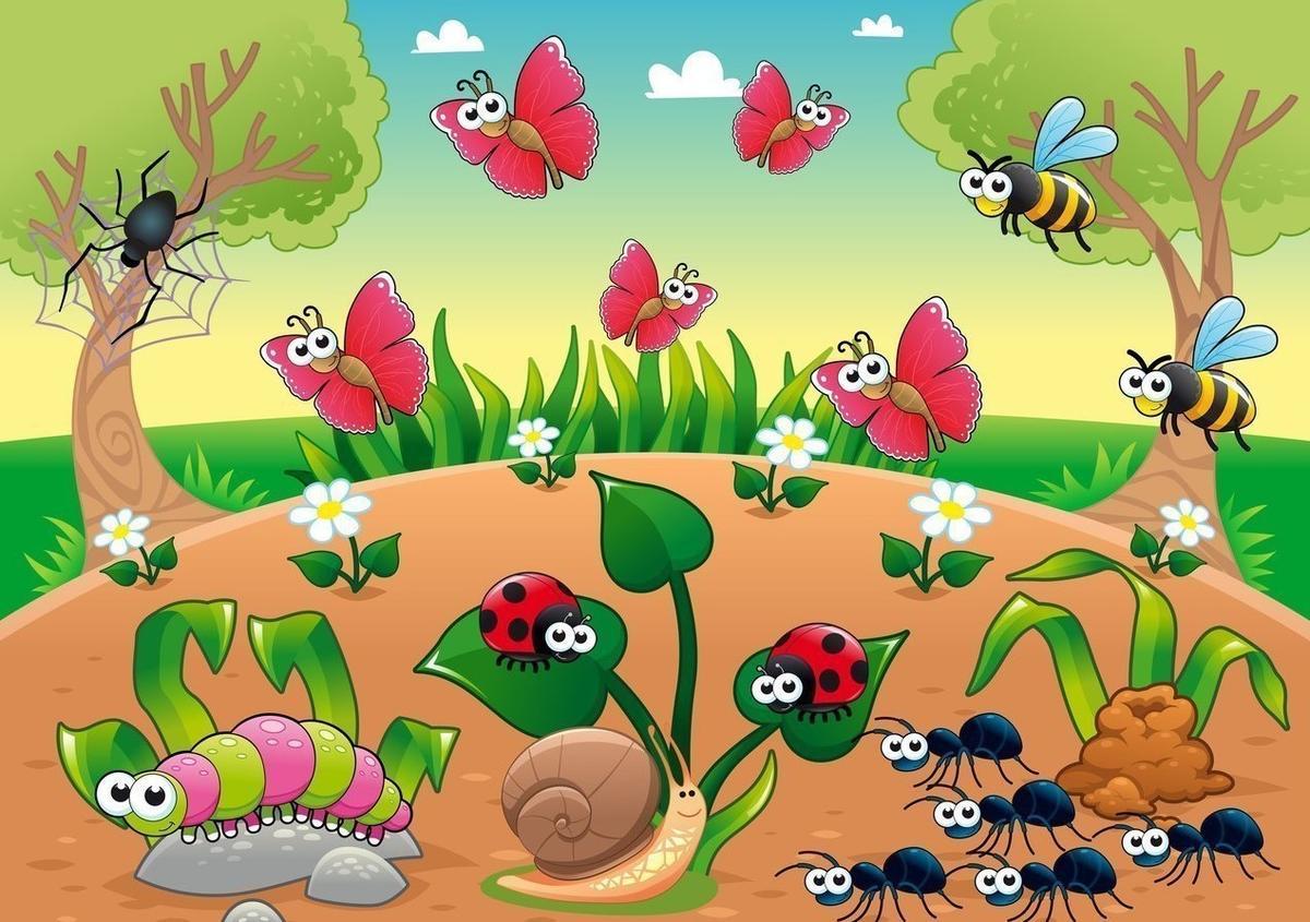 картинки для презентации по теме насекомые выпускает