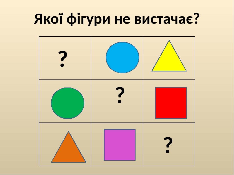 """Презентація на тему """"Весела геометрія"""" для 1 класу НУШ"""