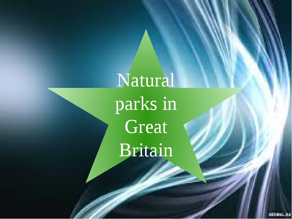 Natural parks in Great Britain