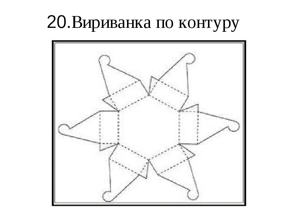 20.Вириванка по контуру