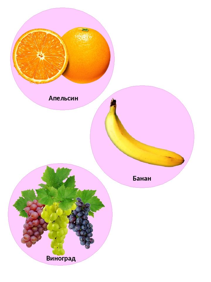 Апельсин Банан Виноград