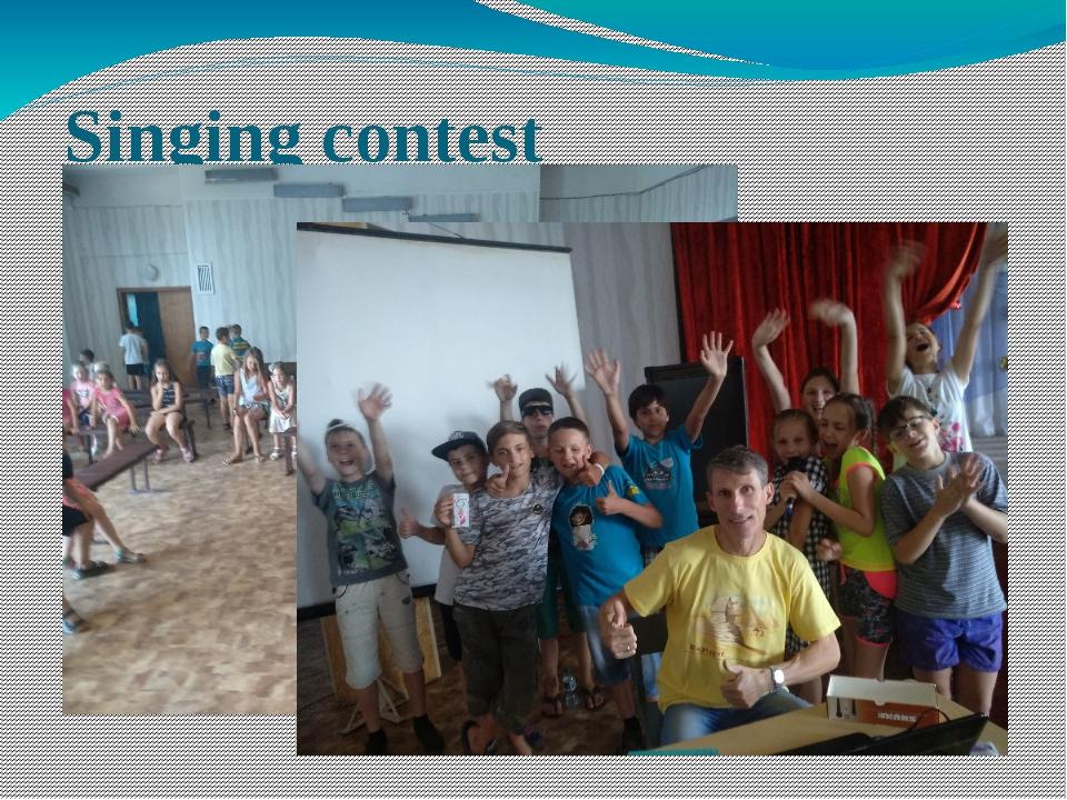 Singing contest