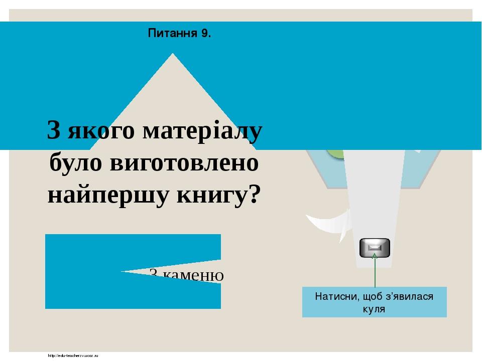 http://edu-teacherzv.ucoz.ru Стислий влучний народний вислів повчального змісту Прислів'я Відповідь Натисни, щоб з'явилася куля 10 2 11 12 13 14 15...