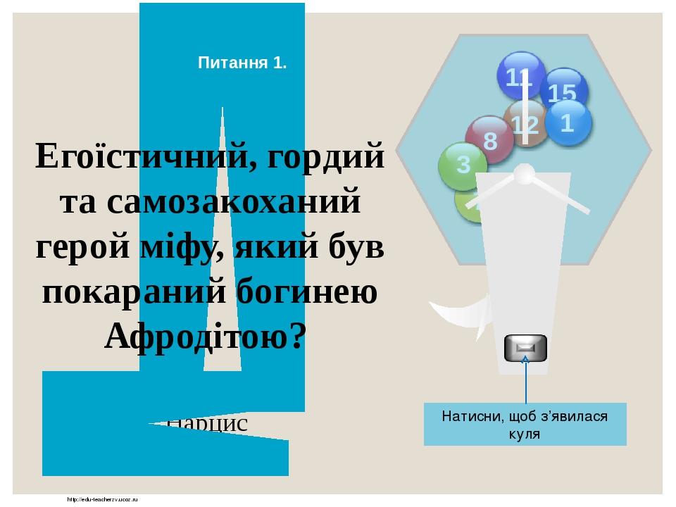 http://edu-teacherzv.ucoz.ru Автор байок «Лисиця і Виноград», «Мурашки й Цикада», «Вовк і Ягня»? Езоп Відповідь Натисни, щоб з'явилася куля 15 11 1...