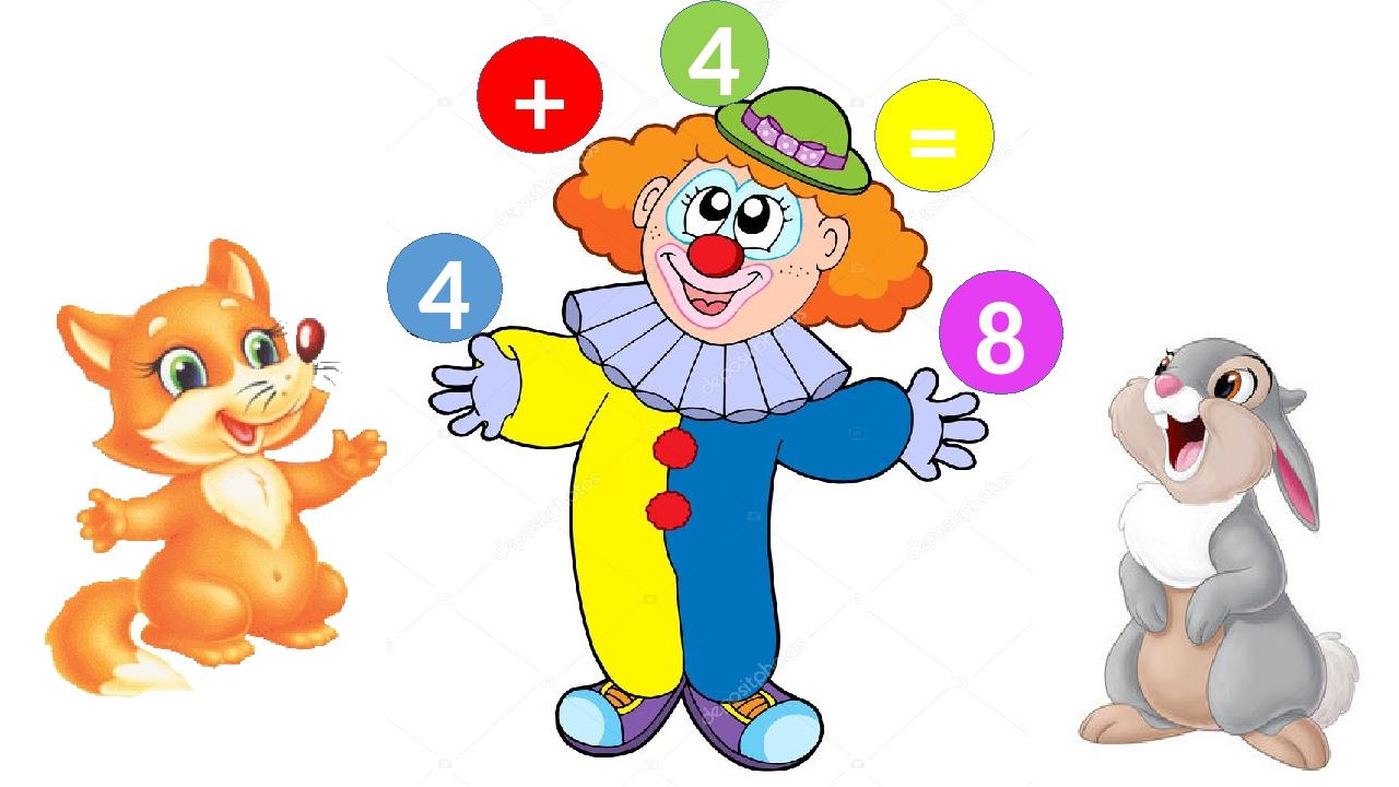 4 + 4 = 8