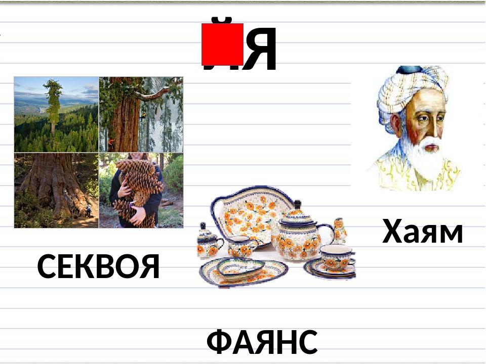 ЙЯ СЕКВОЯ Хаям ФАЯНС