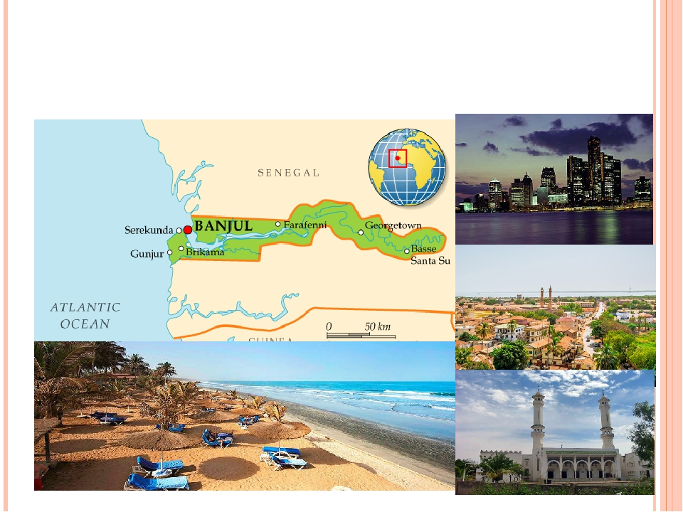 Гамбія – найменша материкова країна