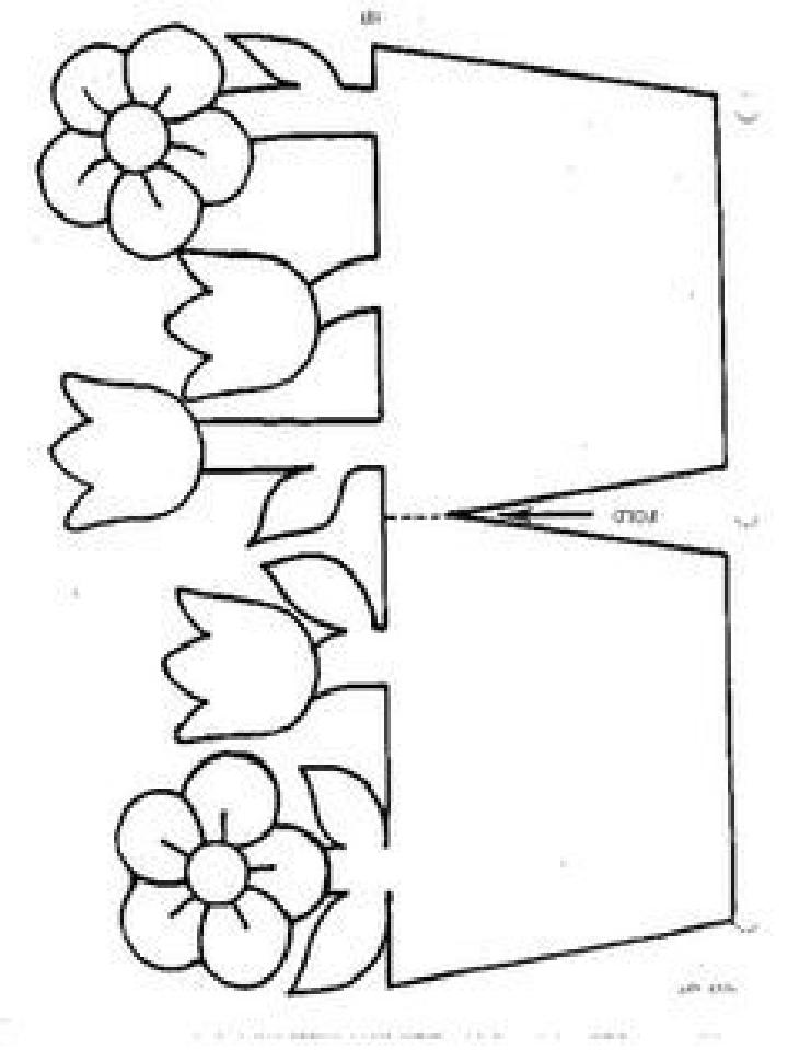 шаблоны для вырезания для открытки