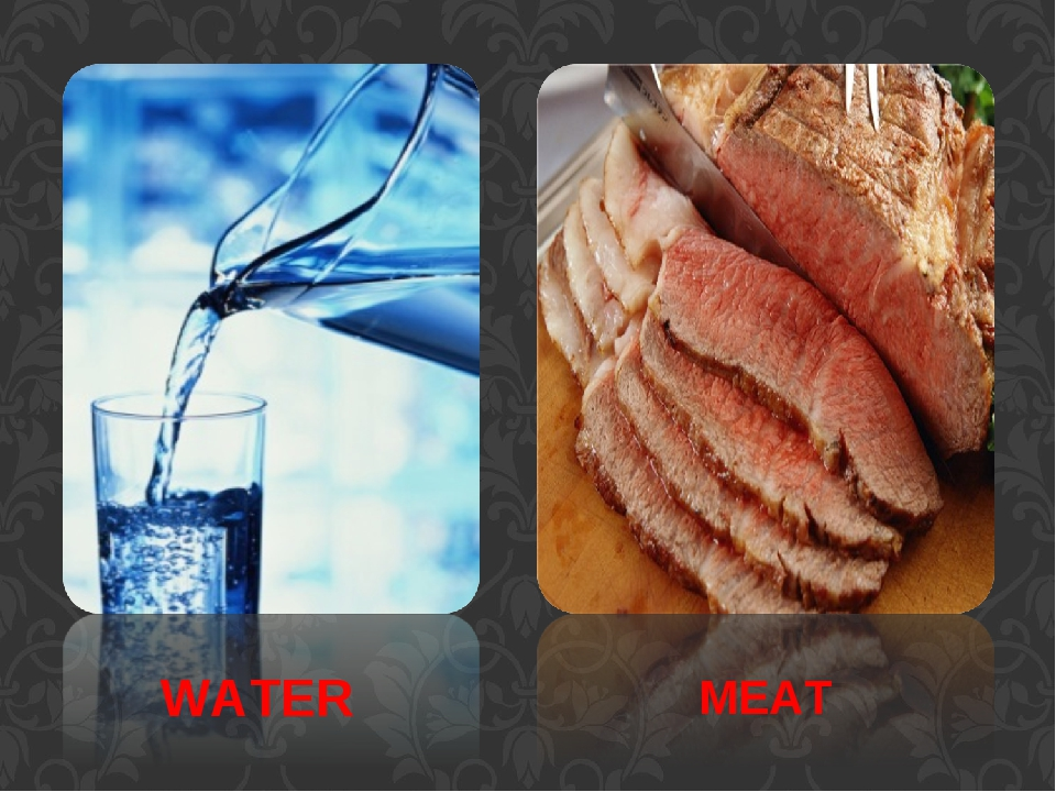 WATER MEAT