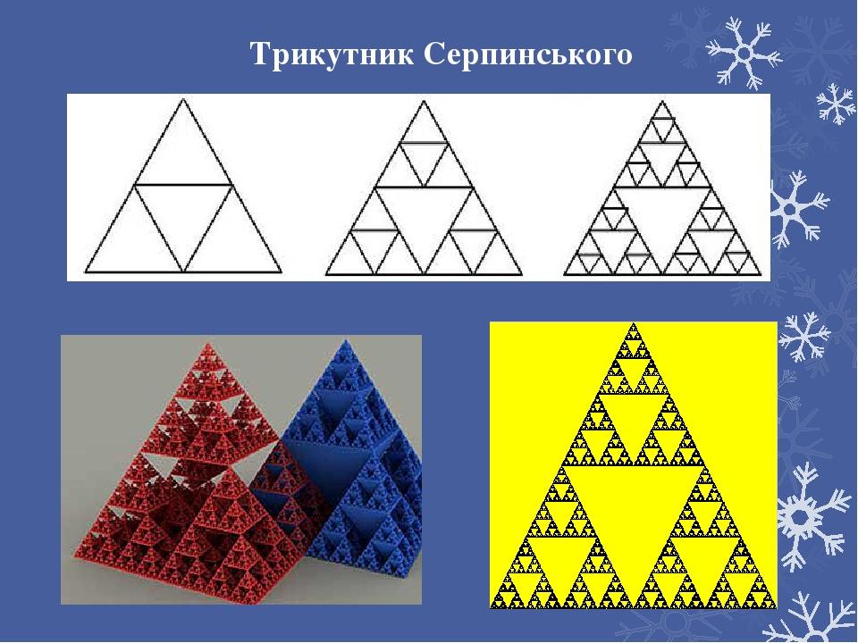 Трикутник Серпинського