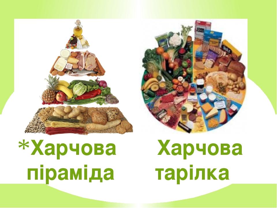 Харчова Харчова піраміда тарілка