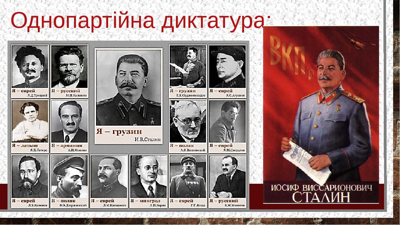 Однопартійна диктатура: