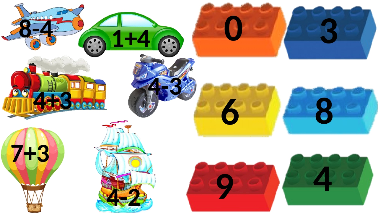 8-4 7+3 4+3 1+4 4-3 4-2 0 6 8 9 4 3