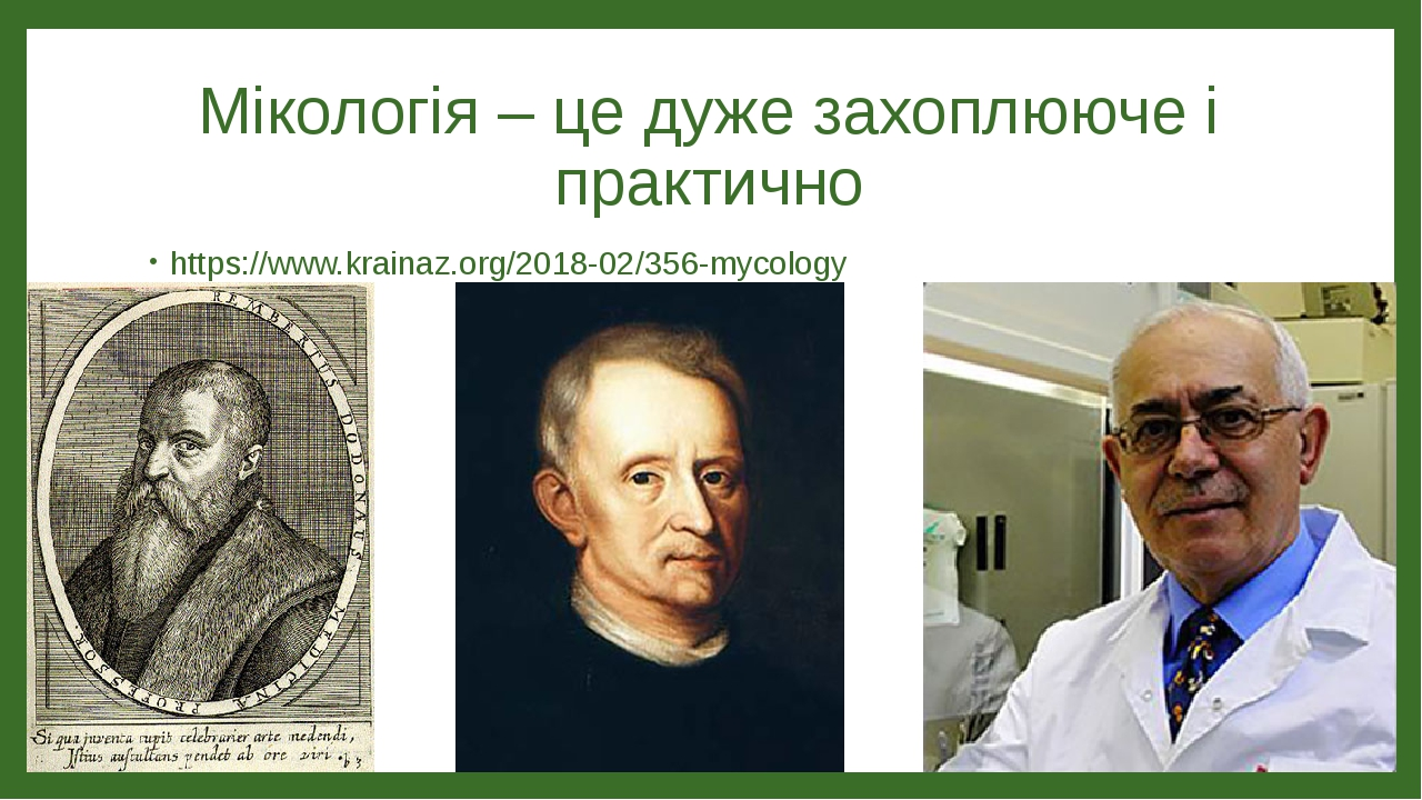 Мікологія – це дуже захоплююче і практично https://www.krainaz.org/2018-02/356-mycology