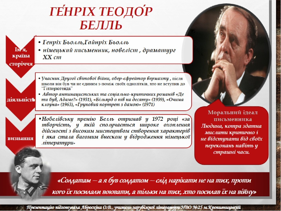 Ге́нріх Теодо́р Белль