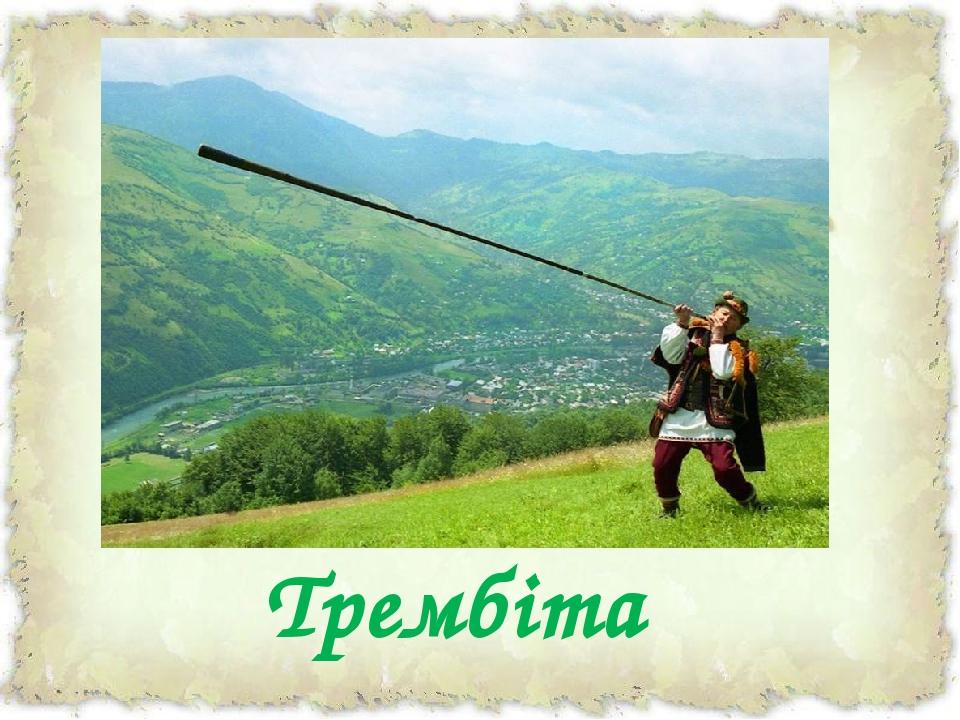 Трембіта