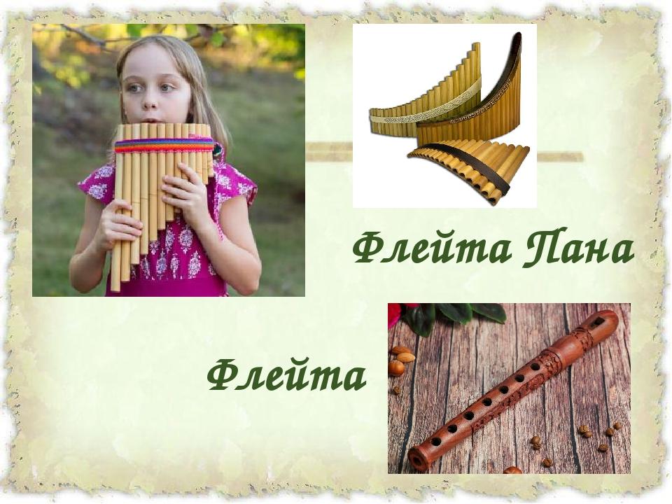 Флейта Пана Флейта