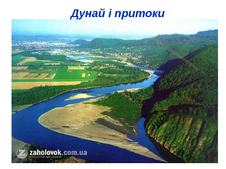 Дунай і притоки
